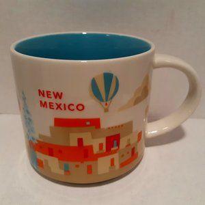 Starbucks 2016 You Are Here Mug - New Mexico
